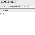 【Oracle】BLOB(バイナリデータ)の可視化と登録方法