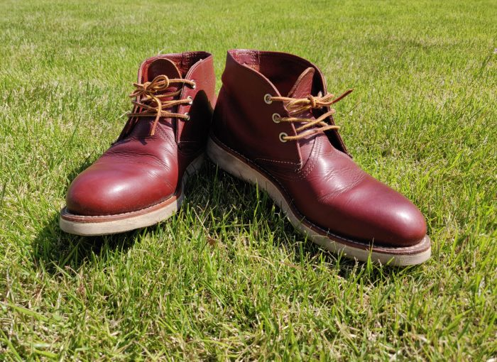 RED WING CLASSINC CHUKKA全体図