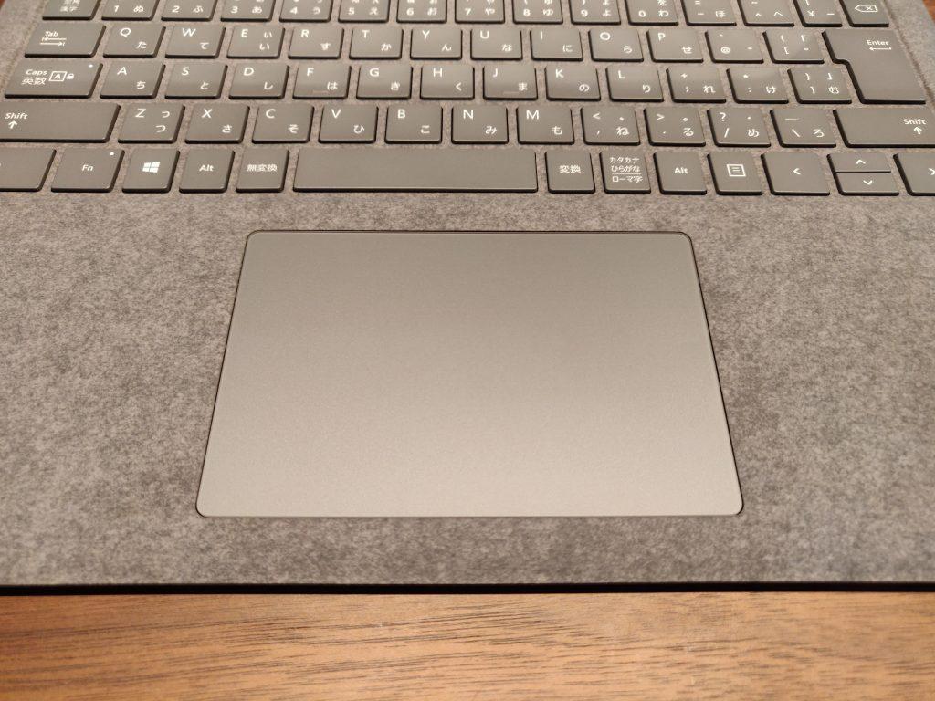 Surface Laptop3のタッチパッド