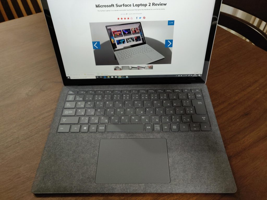 Surface Laptop3アルカンターラ